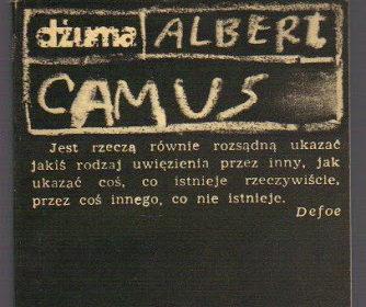 Albert Camus, Dżuma; odc. 1