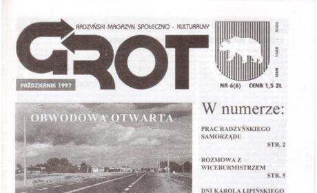 """Grot"" nr 6: październik 1997"