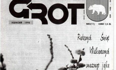 """""""Grot"""" nr 11: kwiecień 1998"""