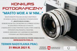 """Konkurs fotograficzny """"Miasto moje a w nim..."""""""