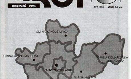 """Grot"" nr 15: wrzesień 1998"