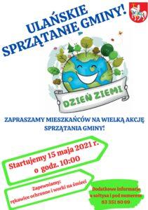 Ulańskie sprzątanie gminy @ Gmina Ulan-Majorat