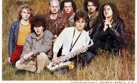 """Poznaj singla 22  – Gedeon Jerubbaal  """"Śpiewaj i tańcz – pieśń pocieszenia"""" / """"Cichy brzeg"""" (1985)"""
