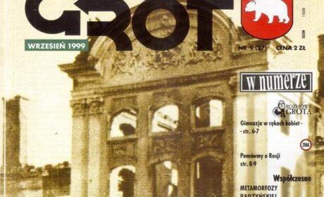 """GROT"" nr 27: wrzesień 1999"