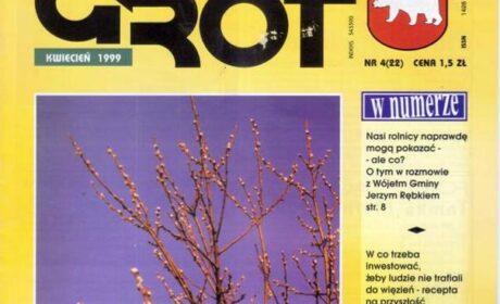"""""""Grot"""" nr 22: kwiecień 1999"""