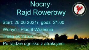 Nocny Rajd Rowerowy @ Wohyń, Plac 9 września