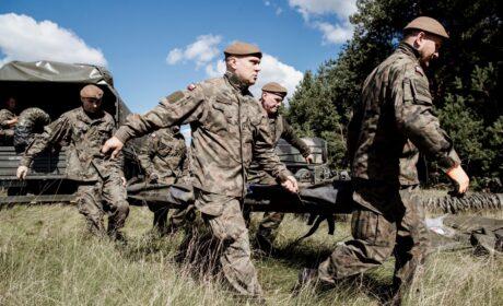 """Szkoleniowy weekend lubelskich terytorialsów oraz """"Silne wsparcie"""" dla mieszkańców Lubelszczyzny"""